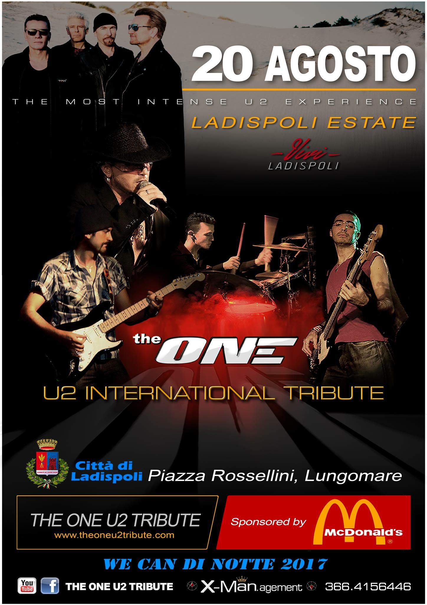 Ladispoli: 19 e 20 agosto all'insegna del grande rock, grazie alla collaborazione con Mc Donald