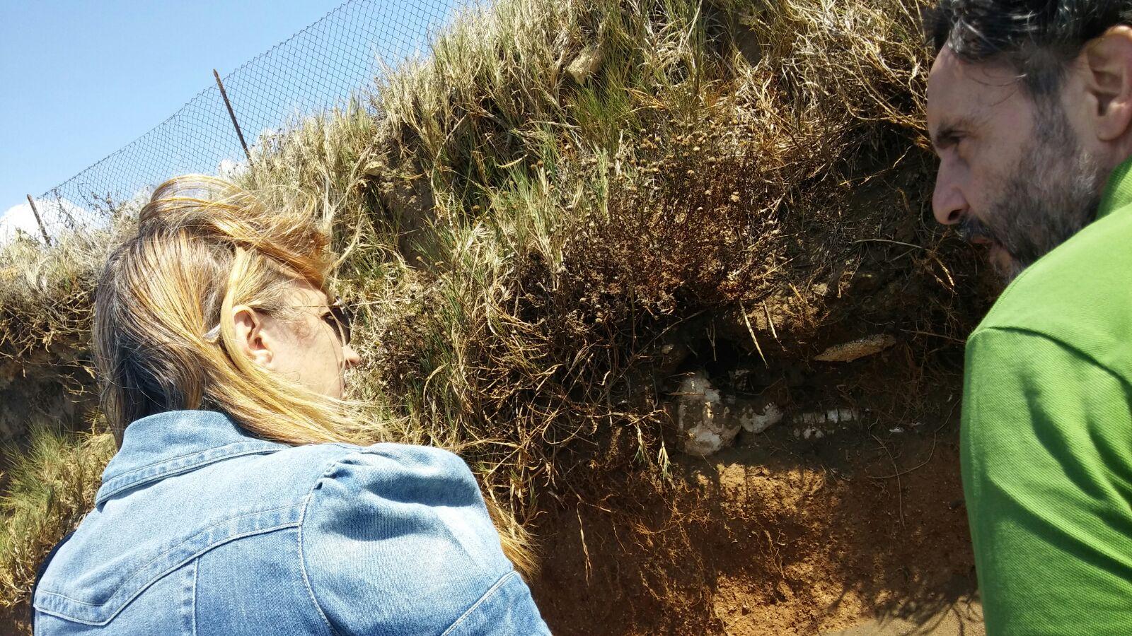 """Ladispoli: rinvenuto scheletro e resti di una """"tomba a cappuccina"""""""
