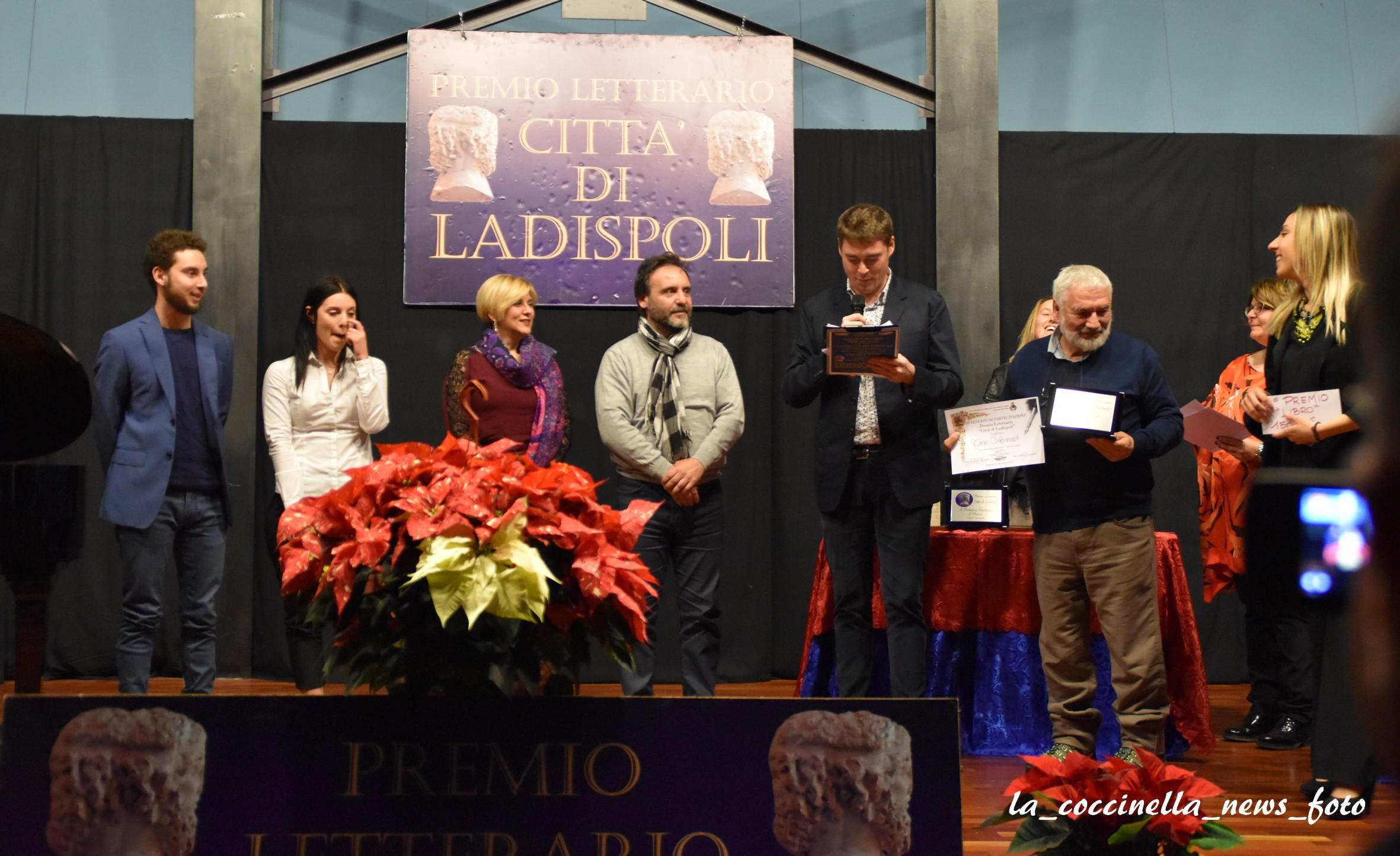 """Premio Letterario """"Città di Ladispoli"""": vince Angelo Damiani con """"Invitto"""""""