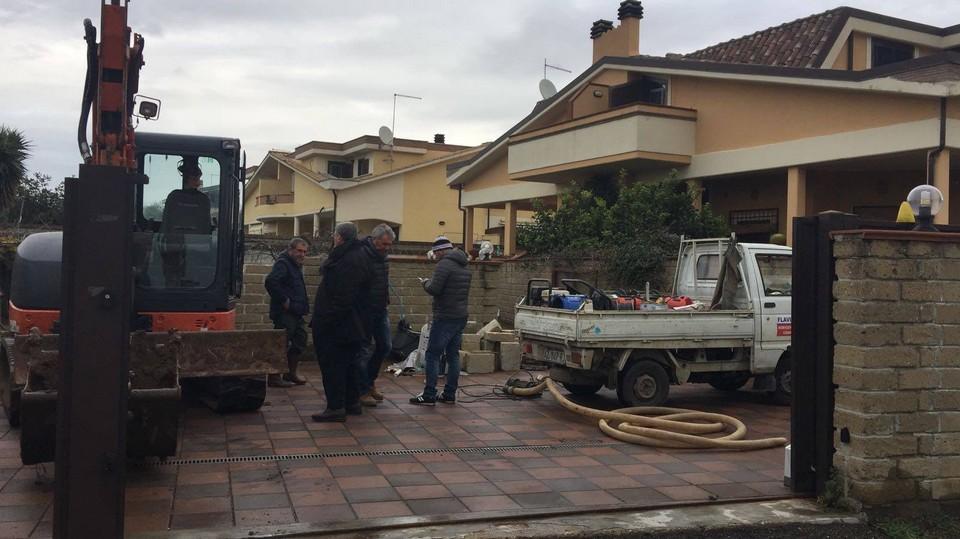 +++ aggiornamento +++ Rottura conduttura via Settevene Palo – Ladispoli