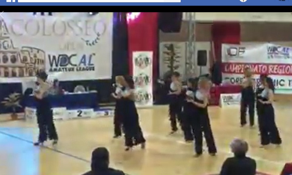 International Competition Colosseum: due ori per Ladispoli grazie alle Sincro Latin over 35