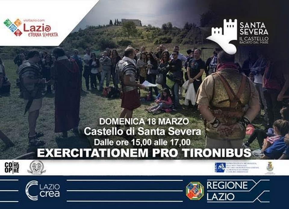Legionari al Castello: exercitationem pro tironibus