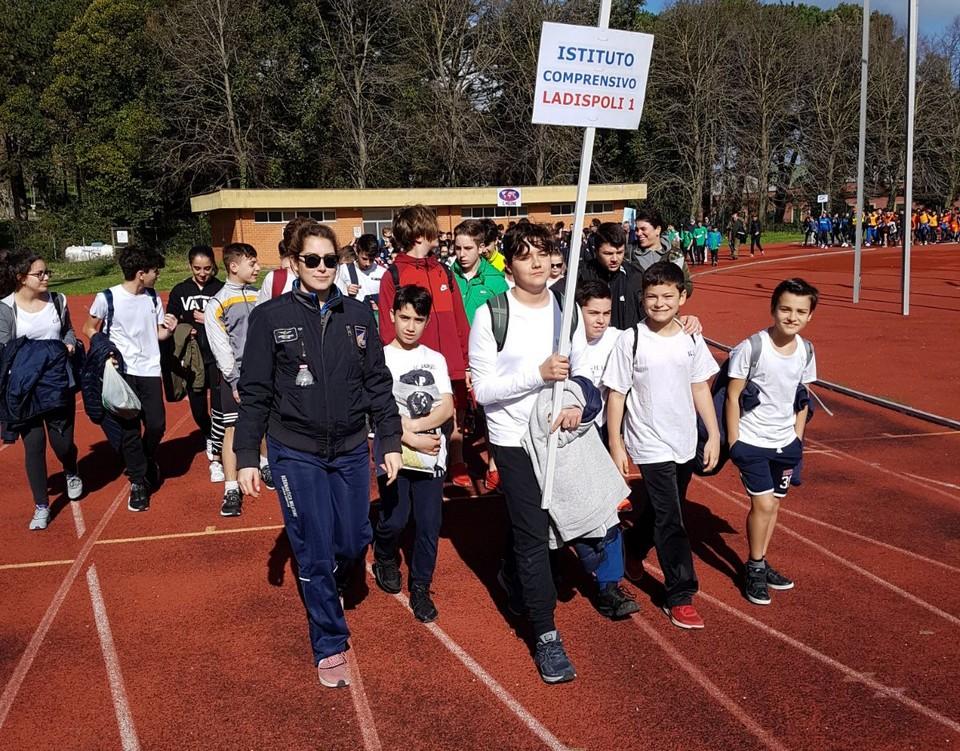 Un anno scolastico ricco di eventi sportivi. La soddisfazione dei docenti dell'i.c. Ladispoli 1