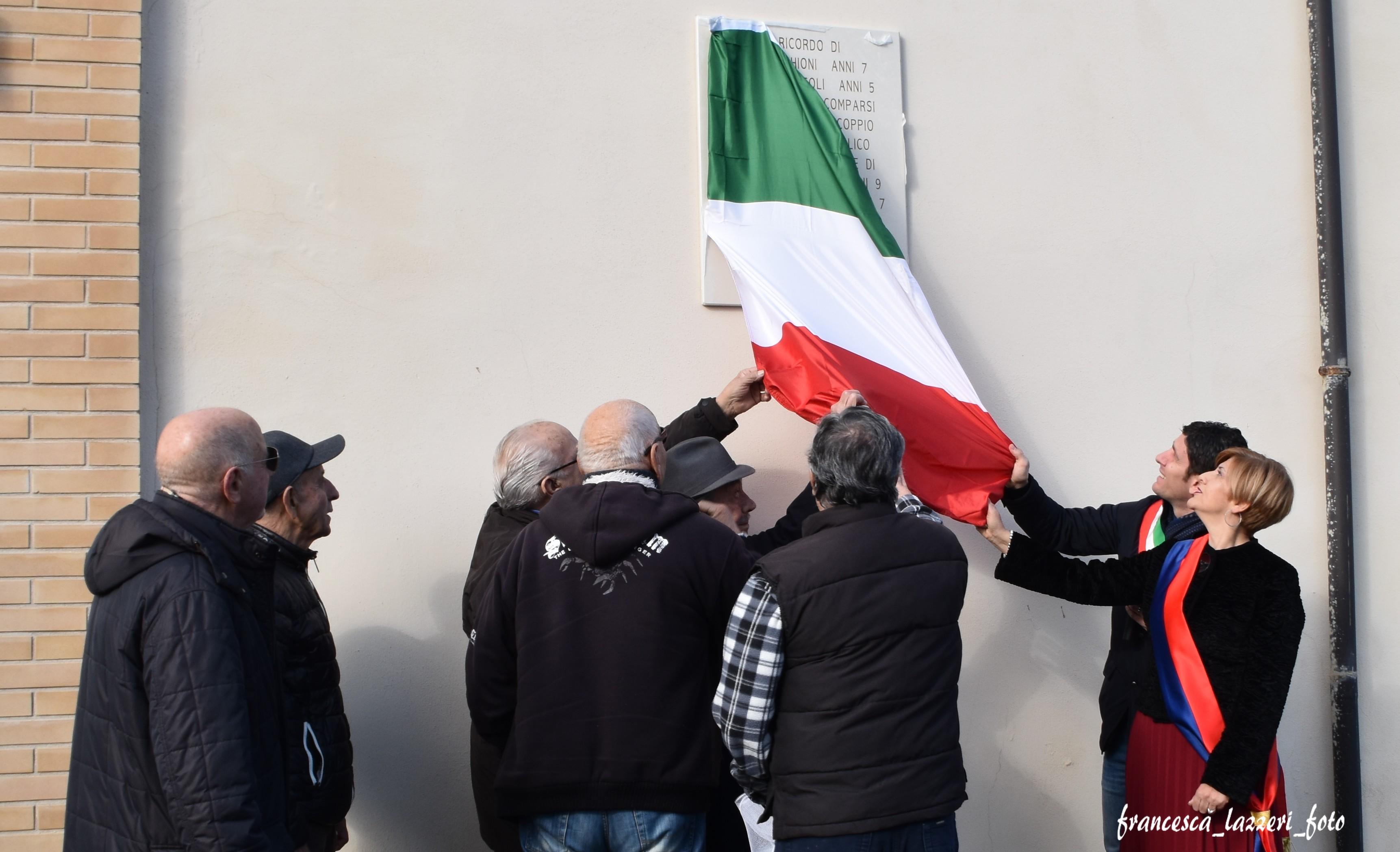 Ladispoli riscopre la sua storia: dopo 74 anni intitolata una piazzetta a Luigi Picchioni e Claudio Zoffoli