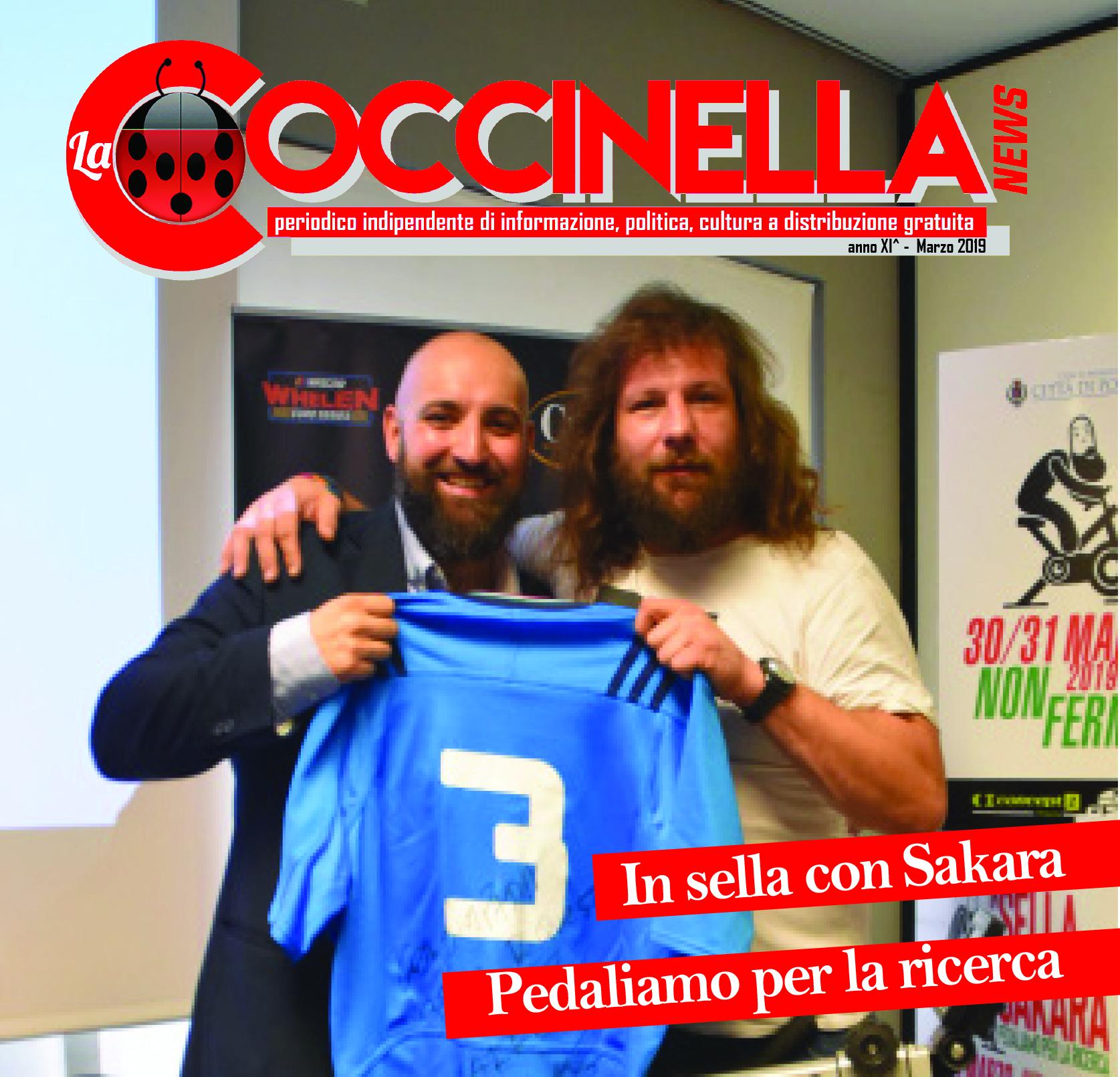 """Il numero di marzo de """"La Coccinella news"""""""