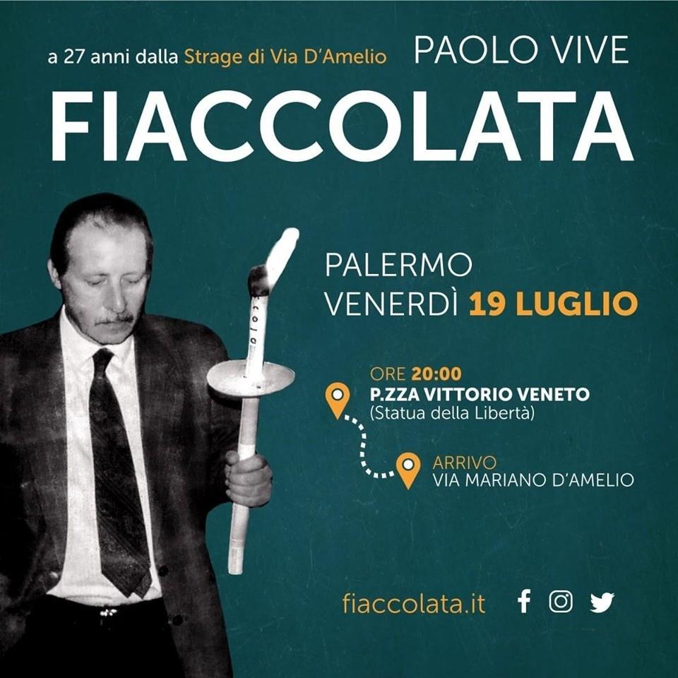 """27 anni fa la strage di Via D'amelio. Grando: """"Il nostro Comune al fianco di chi sfilerà alla fiaccolata di stasera a Palermo"""""""
