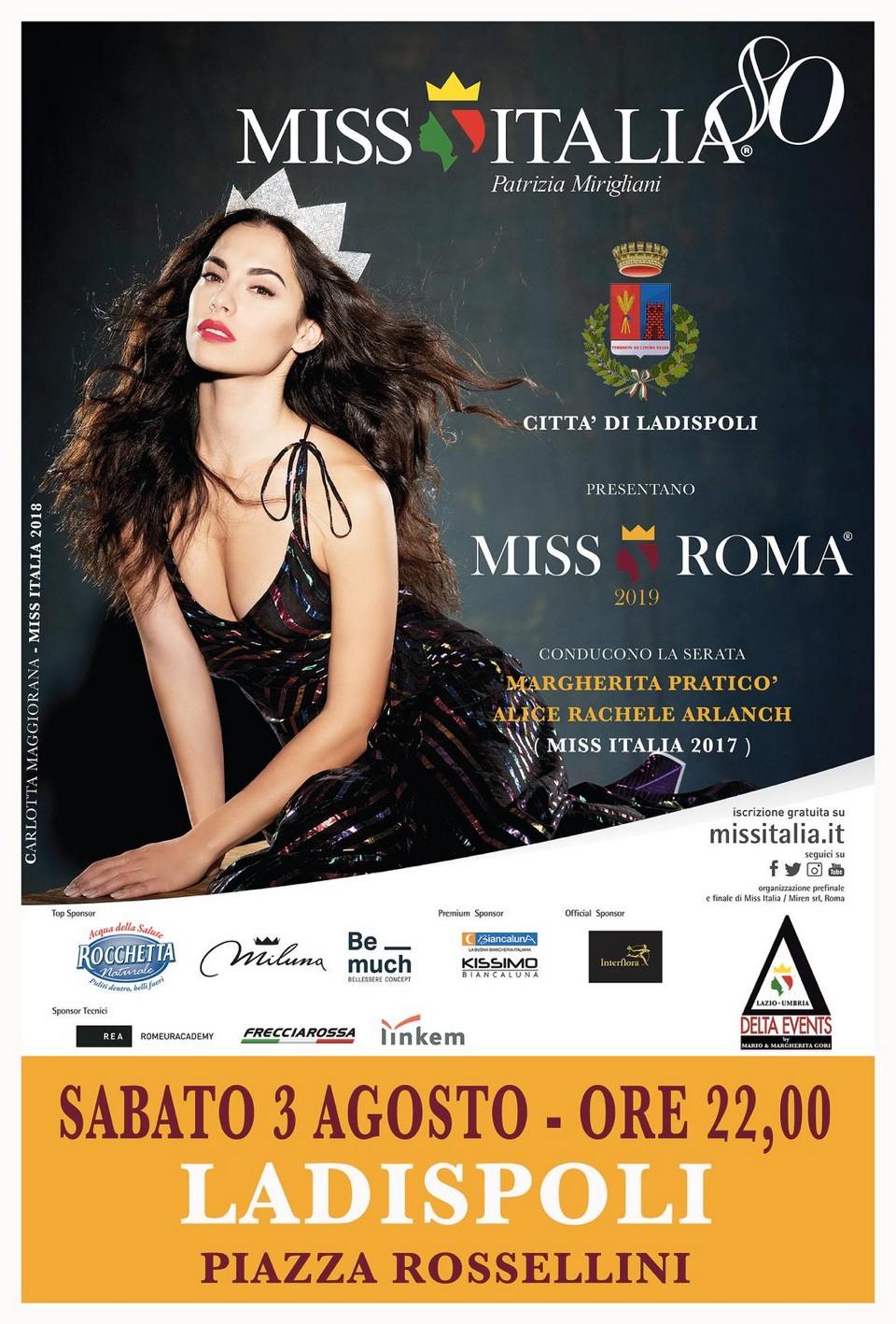 Miss Roma 2019: il 31 luglio la conferenza stampa – evento