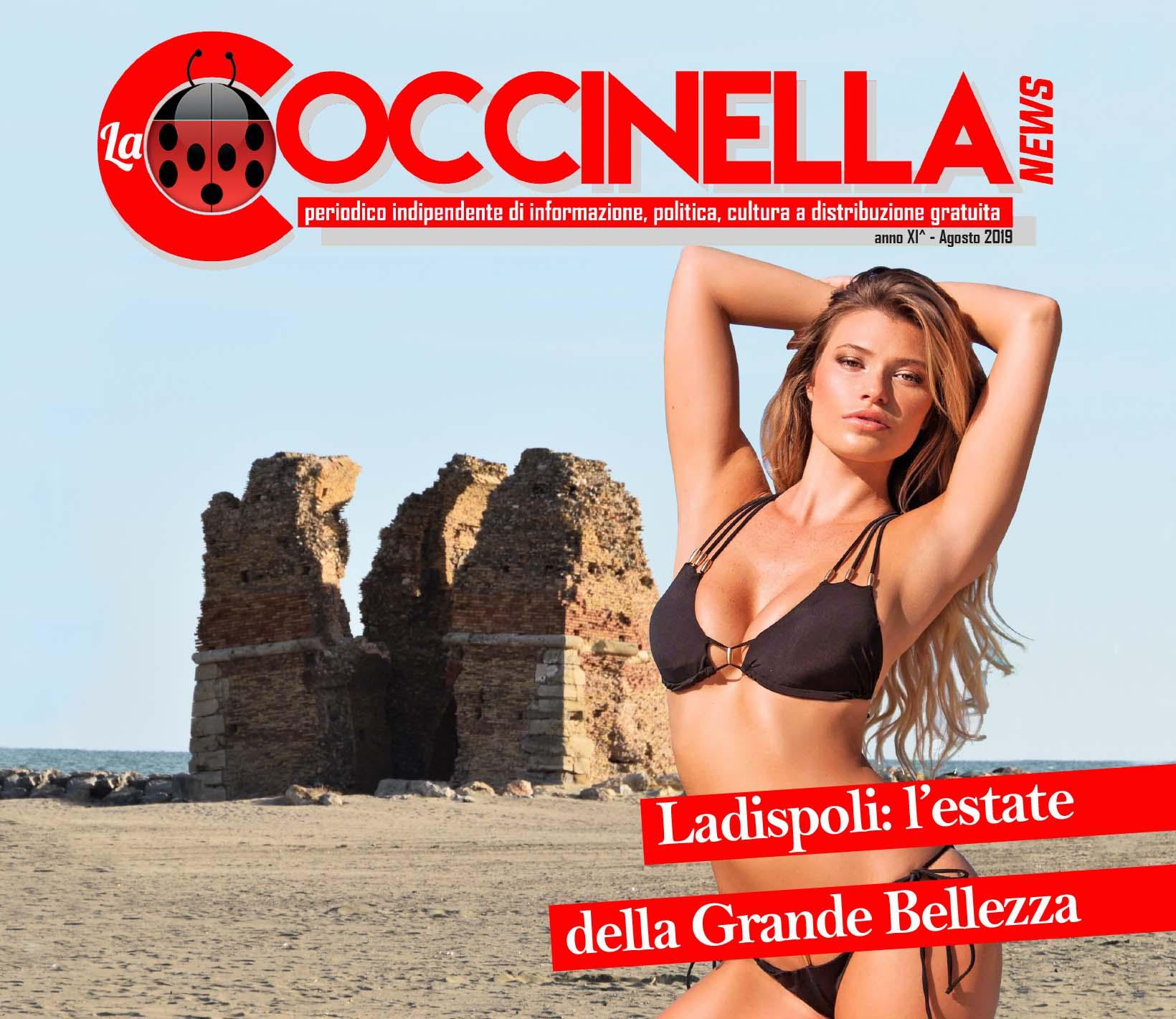 """IL NUMERO DI AGOSTO DE """"LA COCCINELLA NEWS"""""""