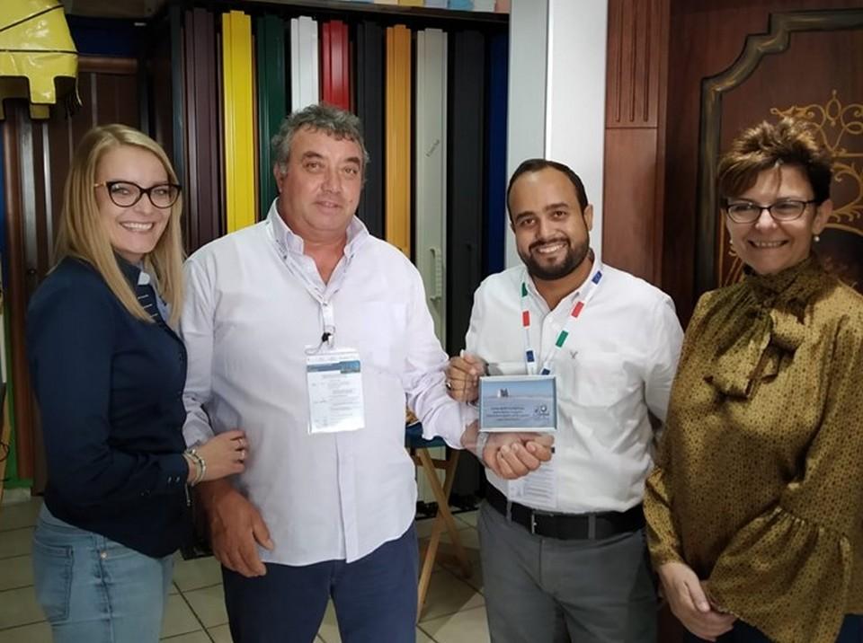 Emiratini in cerca di lusso e made in Italy di qualità. Intermediari internazionali in visita alla AZ System di Ladispoli